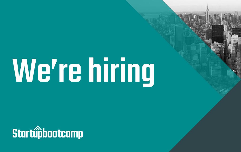 Jobs - Startupbootcamp