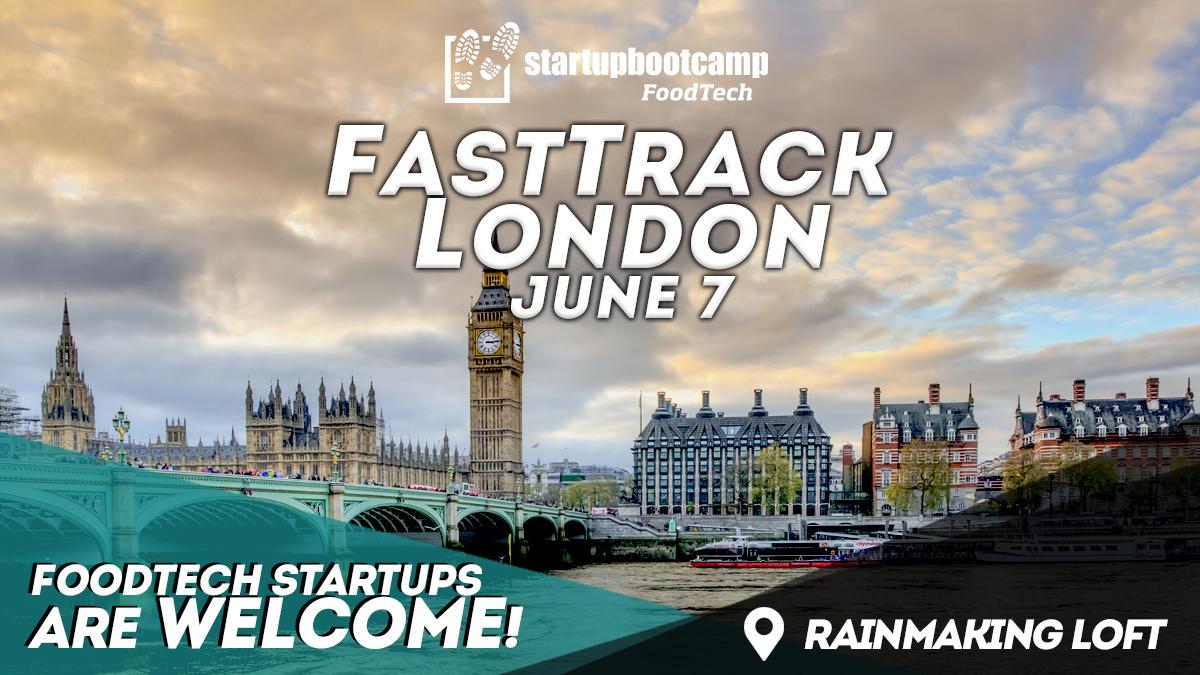 foodtech london fasttrack startupbootcamp
