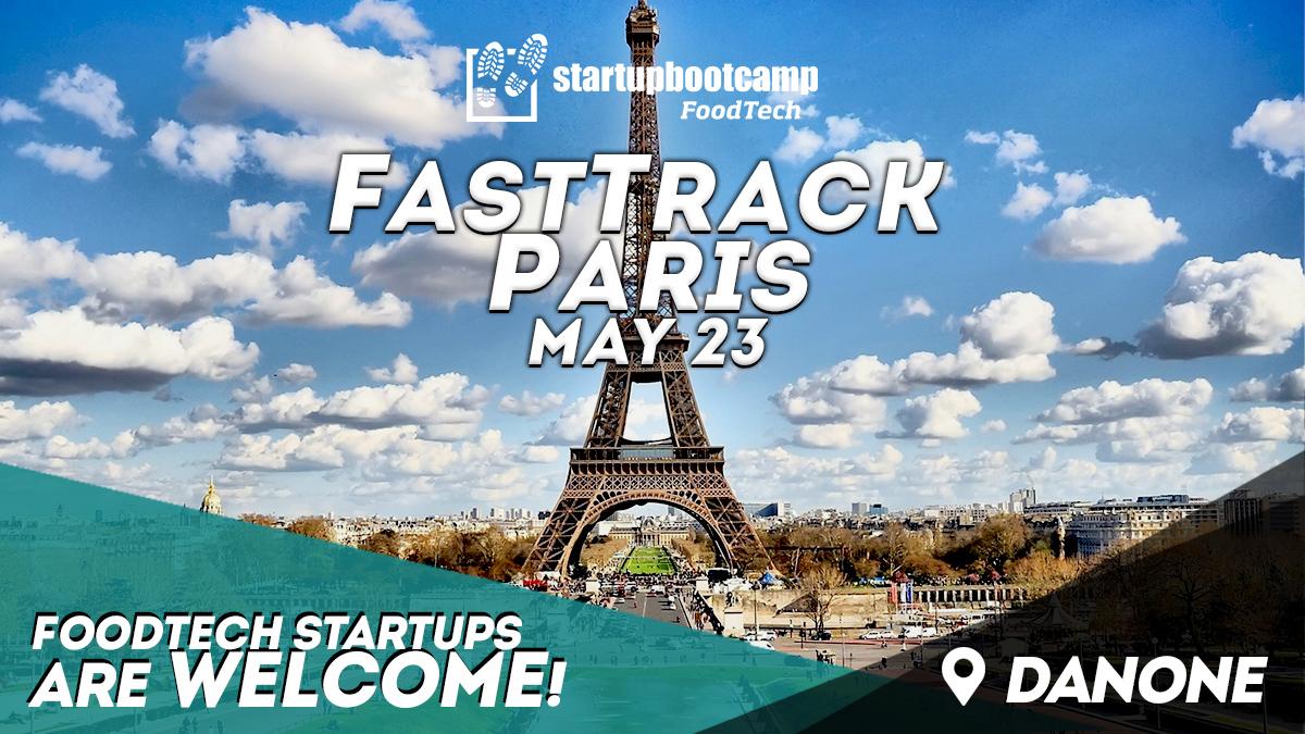 foodtech paris fasttrack startupbootcamp