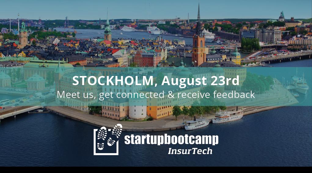 Startupbootcamp InsurTech Stockholm Fast Track