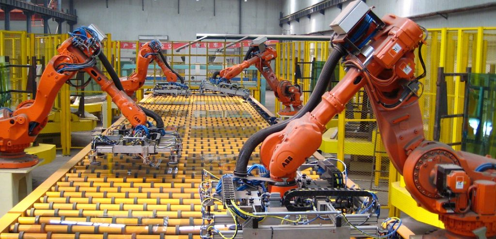Industrial IoT in action.
