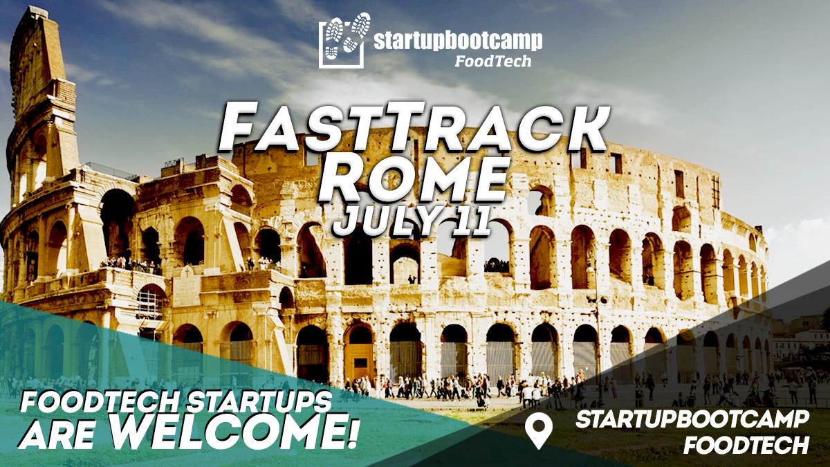 foodtech rome fasttrack startupbootcamp