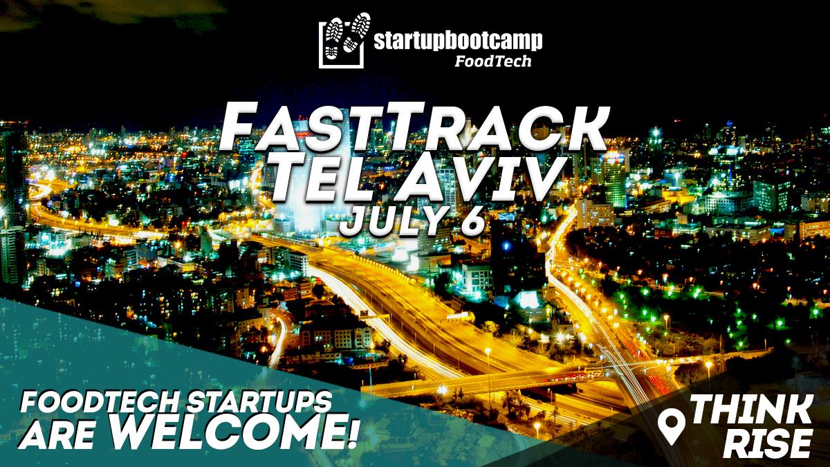 foodtech tel avivi fasttrack startupbootcamp