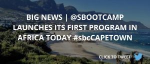Blogpost_Launch SBC Cape Town