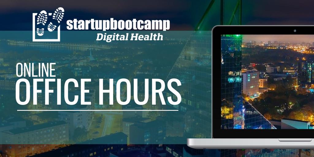 online office hours digital health berlin startupbootcamp
