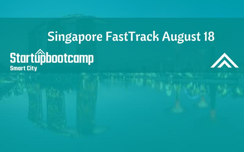Smart City Dubai FastTrack in Singapore - Startupbootcamp