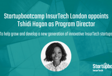 Startupbootcamp InsurTech London appoints Tshidi Hagan as Program Director