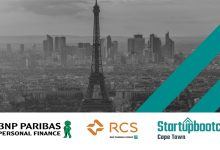 BNP Paribas and Startupbootcamp Cape Town Host Paris FastTrack to source Top Startup Talent