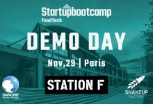 Startupbootcamp FoodTech Demo Day will be at Station F, Paris!