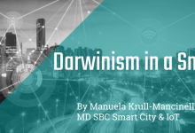 Darwinism in a Smart City