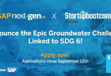Startupbootcamp AfriTech and SAP Next-Gen Announce Water Challenge Linked to SDG 6