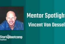 FoodTech Mentor Spotlight: Vincent Van Dessel
