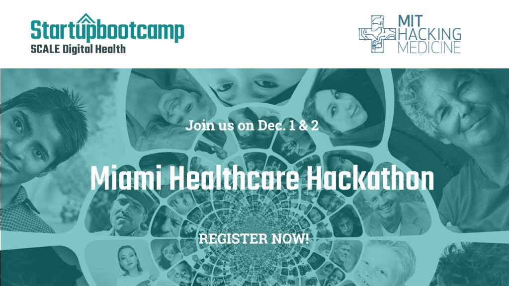 Dec. 1 & 2 Miami Healthcare Hackathon