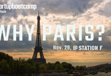 Why do we go to Paris? Simple, it is the center of European foodtech.