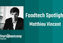 FoodTech Spotlight: Matthieu Vincent