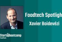 FoodTech Spotlight: Xavier Boidevezi