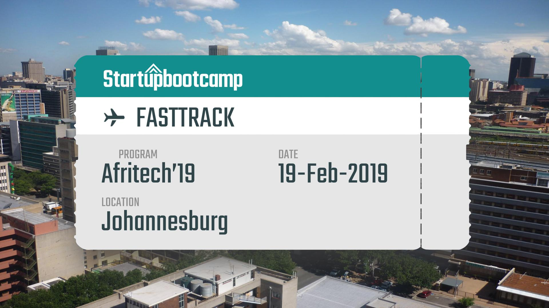 FastTrack - JoBurg, Feb 19th