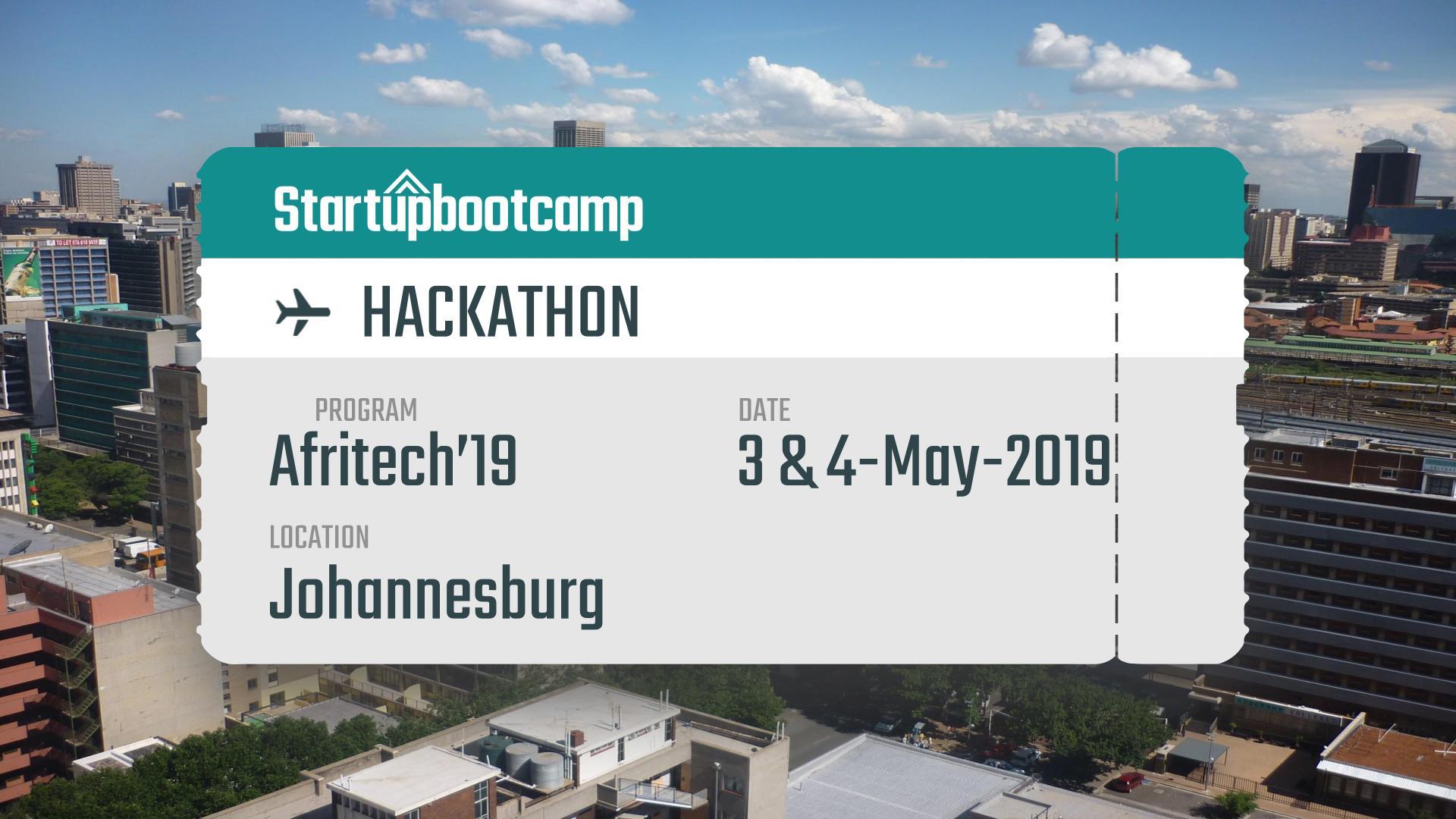 Johannesburg Hackathon - May 4
