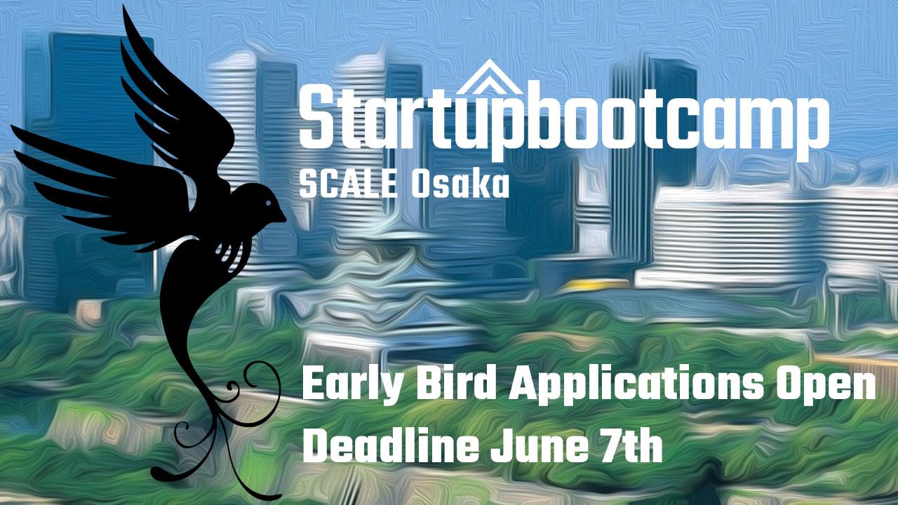 SBC Scale Osaka Early Bird Applications Close Soon!