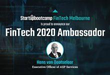 SBC Australia FinTech 2020 Ambassador Announced